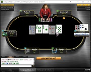 Aconcagua Poker Pot Limit Omaha Table