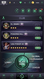 PPPoker Client Lobby and List of Clubs