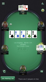 PPPoker Pot Limit Omaha Five Cards Table