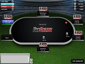 BetOnline Poker Texas Holdem Table