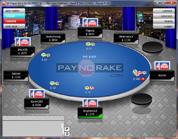 PayNoRake Poker Sit and Go Table