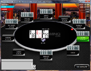 Tiger Gaming Poker Omaha Table