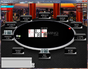 Tiger Gaming Poker Tournament Table
