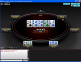 Buzz Poker No Limit Texas Holdem Cash Table