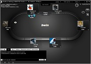 Bwin.IT Poker Double or Nothing Sit and Go Table