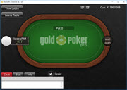GoldPokerPro No Limit Texas Holdem Heads Up Table