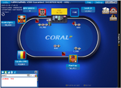 Coral Poker Guaranteed Tournament Table