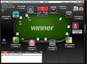Winner Poker Guaranteed Tournament Table