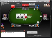 Winner Poker Pot Limit Omaha Table