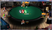 Betsson Poker No Limit Texas Holdem Cash Table