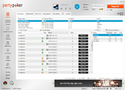 PartyPoker Client Lobby