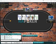 Red Argentina de Poker No Limit Texas Holdem Heads Up Table