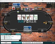 Red Argentina de Poker Pot Limit Omaha High Table