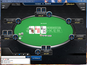 Black Chip Poker No Limit Texas Holdem Table