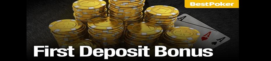 BestPoker First Deposit Bonus