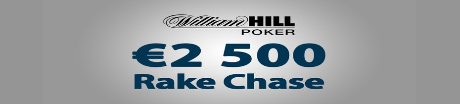 2500 EUR WILLIAM HILL RAKE CHASE