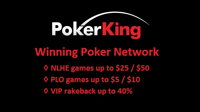 Earn up to 40% VIP cashback by playing on US friendly Winning Poker Network