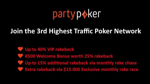 Earn Up to 70% rakeback for NLHE and PLO cash games