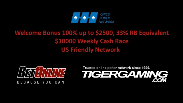 100% up to 2500$ Welcome Bonus & 10000 weekly cash race on US friendly network